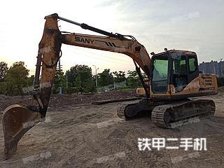 三一重工SY135挖掘機實拍圖片