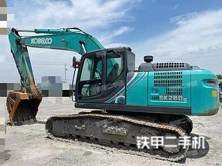 安徽-马鞍山市二手神钢SK260LC-10挖掘机实拍照片