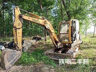 玉柴YC50-8挖掘機實拍圖片