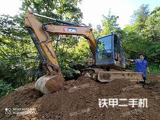 湖北-恩施市二手徐工XE75DA挖掘机实拍照片