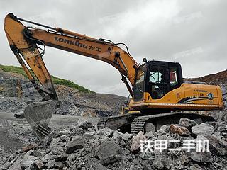 龍工LG6225H挖掘機實拍圖片
