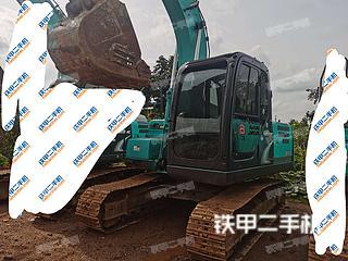 中山神钢SK140LC-8挖掘机实拍图片