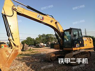 安慶卡特彼勒323GX挖掘機實拍圖片