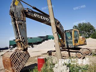 安徽-滁州市二手沃尔沃EC240B挖掘机实拍照片