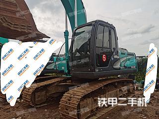 中山神钢SK200-8挖掘机实拍图片