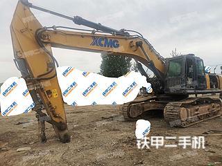 河北-保定市二手徐工XE470D挖掘机实拍照片