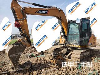 襄陽三一重工SY75C挖掘機實拍圖片