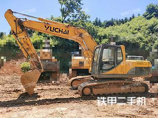 玉柴YC210LC-8挖掘機實拍圖片