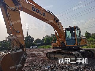 山东-济南市二手山东临工E6205F挖掘机实拍照片