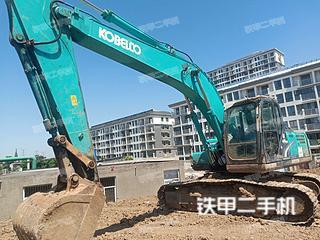 安徽-淮南市二手神钢SK200-8挖掘机实拍照片
