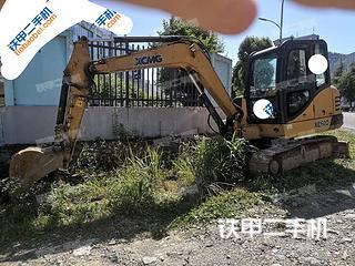 徐工XE60D挖掘機實拍圖片