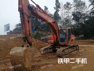 四川-绵阳市二手斗山DH225LC-7挖掘机实拍照片