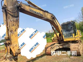 江西-九江市二手小松PC200LC-8N1挖掘机实拍照片