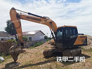 安徽-安庆市二手现代R130VS挖掘机实拍照片