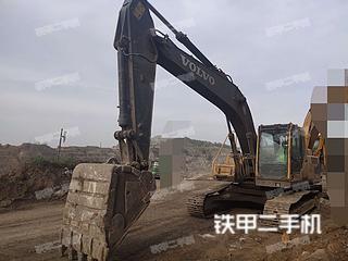 平頂山沃爾沃EC210BLC挖掘機實拍圖片
