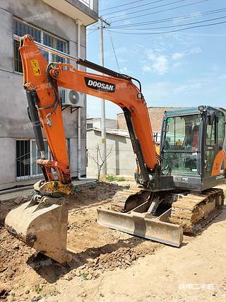 陕西-西安市二手斗山DX60E-9CN挖掘机实拍照片