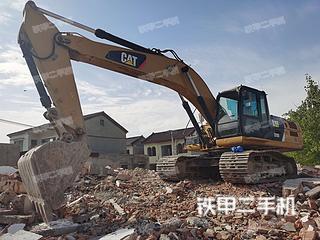 徐州卡特彼勒329D挖掘機實拍圖片