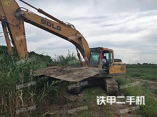江苏-苏州市二手山东临工LG6210E挖掘机实拍照片