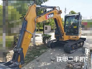 安徽-宿州市二手徐工XE60DA挖掘机实拍照片