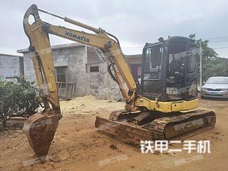 广东-湛江市二手小松PC40MR-3N1挖掘机实拍照片