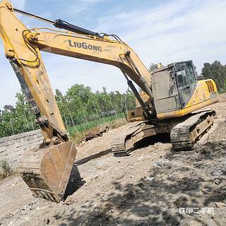 柳工CLG922E挖掘機實拍圖片
