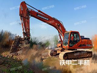 安徽-巢湖市二手斗山DH225LC-7挖掘机实拍照片