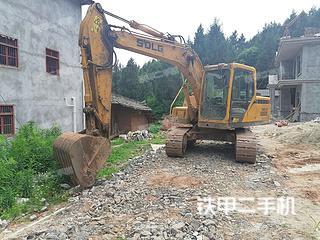 四川-南充市二手山东临工E6135F挖掘机实拍照片