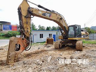 贵州-遵义市二手卡特彼勒336D液压挖掘机实拍照片