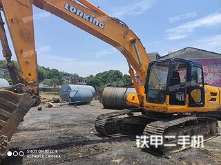 龍工LG6240E挖掘機實拍圖片