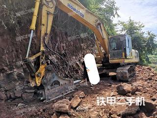 湖南-怀化市二手小松PC200-8挖掘机实拍照片