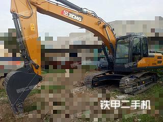 安徽-蚌埠市二手徐工XE205DA挖掘机实拍照片