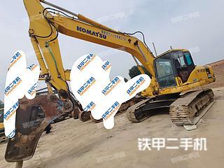 安阳小松PC220-7挖掘机实拍图片