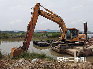 江苏-南京市二手现代R265LC-7挖掘机实拍照片