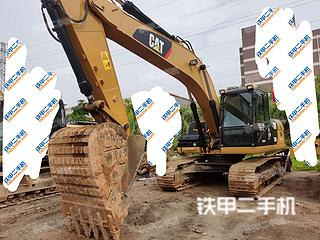 中山卡特彼勒320D液压挖掘机实拍图片
