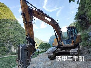 广西-河池市二手三一重工SY135C挖掘机实拍照片