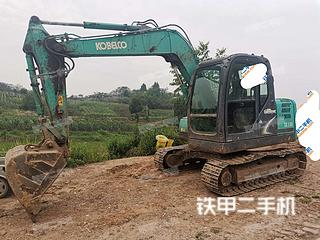 四川-内江市二手神钢SK75-8挖掘机实拍照片