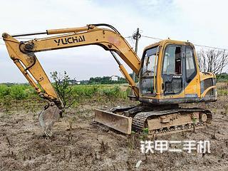 玉柴YC85-8挖掘機實拍圖片