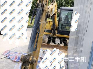 河南-开封市二手卡特彼勒305.5E2小型液压挖掘机实拍照片