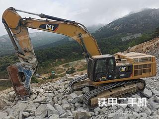 哈爾濱卡特彼勒349D2L液壓挖掘機實拍圖片