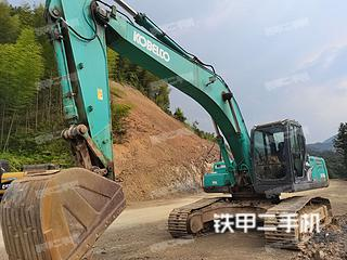 湖北-咸宁市二手神钢SK260LC-8挖掘机实拍照片