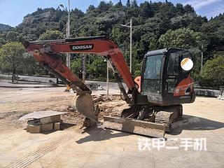 斗山DX55-9C挖掘機實拍圖片
