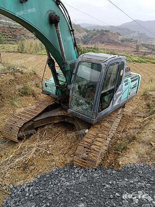 云南-楚雄彝族自治州二手神钢SK260LC-8挖掘机实拍照片