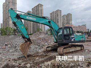 溫州神鋼SK210LC-8挖掘機實拍圖片