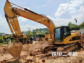 哈爾濱卡特彼勒320D液壓挖掘機實拍圖片