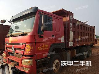 平頂山中國重汽8X4工程自卸車實拍圖片