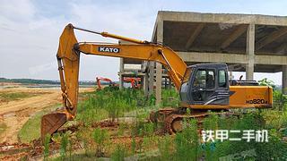 江西-南昌市二手加藤HD820R挖掘机实拍照片