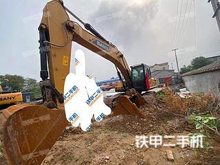 三一重工SY335H挖掘机实拍图片