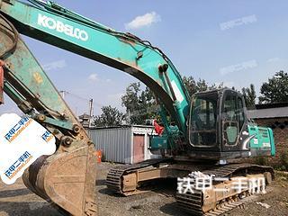 陕西-西安市二手神钢SK260LC-8挖掘机实拍照片