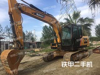 四川-成都市二手三一重工SY135C挖掘机实拍照片