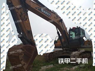 山东-日照市二手三一重工SY265C挖掘机实拍照片